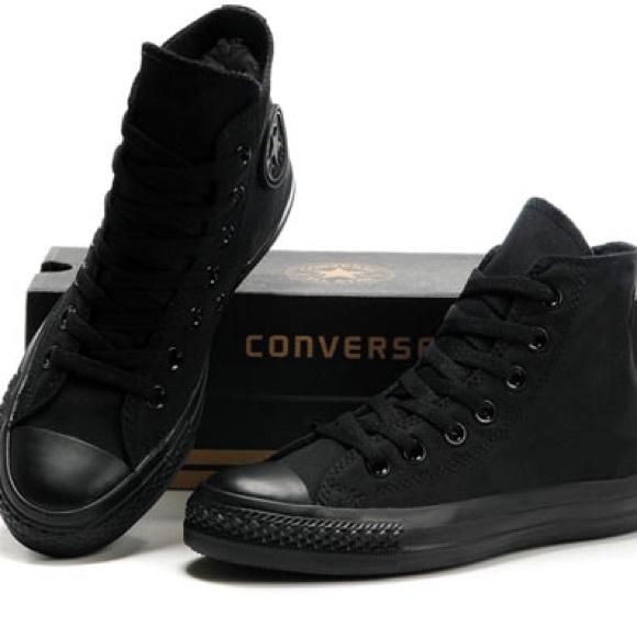 Converse Other - Converse Hi Tops - All Black - Men s size 13 ⭐️ 38662af09
